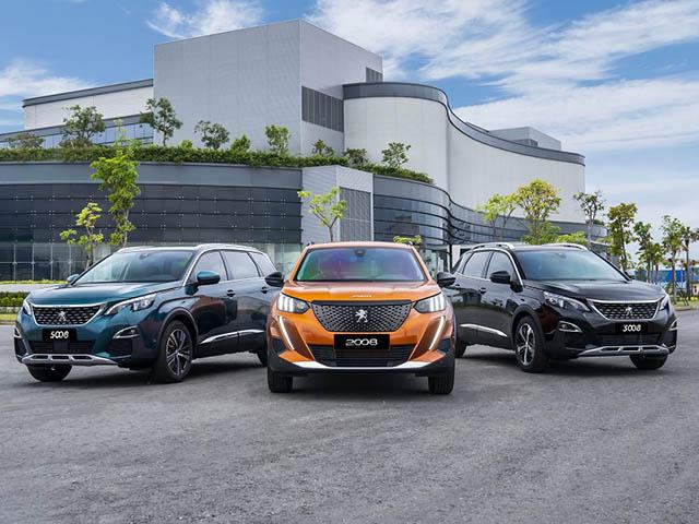 Giá bán các dòng xe Peugeot tại Việt Nam trong tháng 1/2020