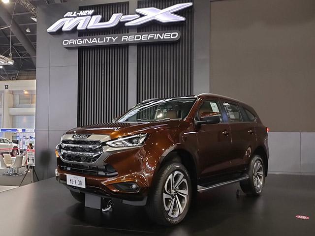 """Isuzu mu-X 2021 sắp ra mắt tại Việt Nam, """"lột xác"""" đấu Toyota Fortuner"""