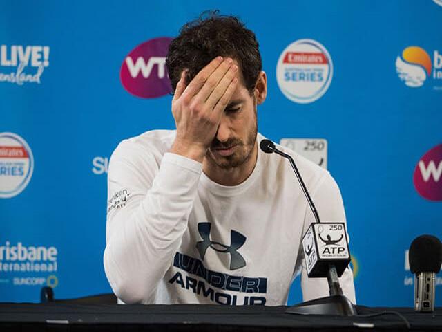 NÓNG: Murray dương tính Covid-19, có kịp dự Australian Open?