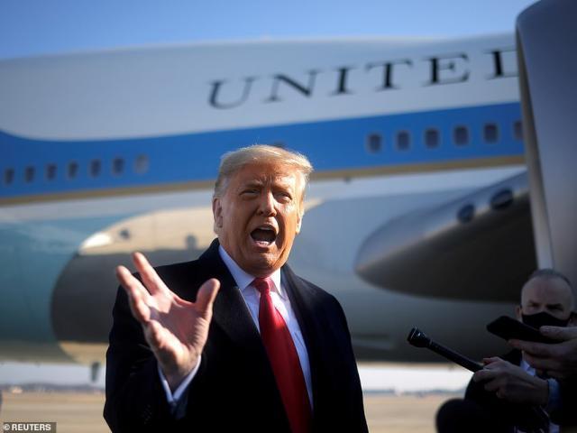 Ông Trump làm gì trong ngày cuối cùng là Tổng thống Mỹ?