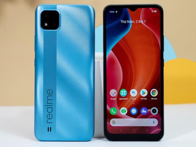 """Xuất hiện smartphone Realme C20 giá rẻ với màn hình lớn, pin """"khủng"""""""