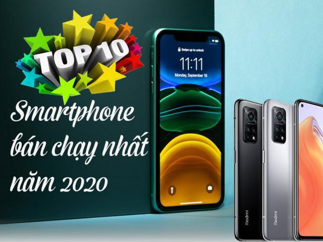 Top 10 smartphone bán chạy nhất năm 2020 tại Việt Nam