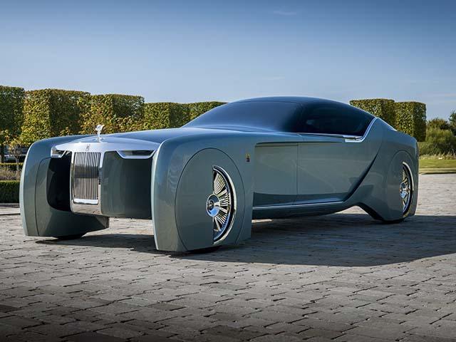Xế điện Rolls-Royce chính thức có tên gọi mới