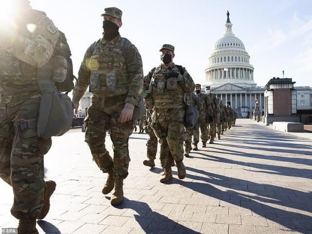 8 bang đồng loạt rút Vệ binh Quốc gia khỏi Washington vì bị đối xử thiếu tôn trọng