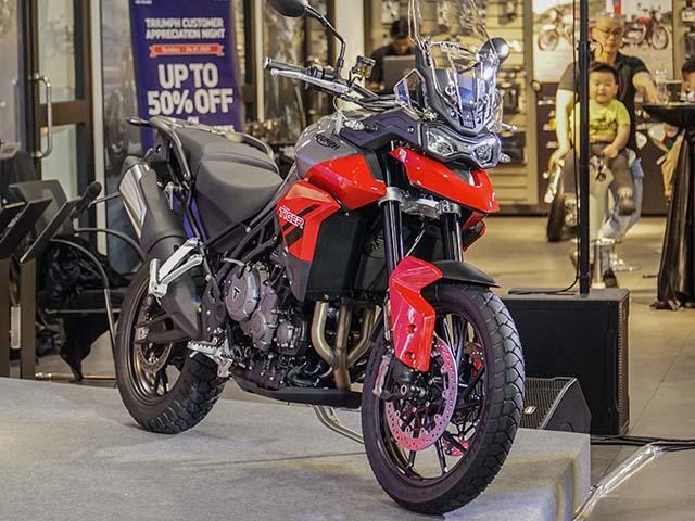 Triumph Tiger Sport 850 có mặt tại Việt Nam, giá bán 359 triệu đồng