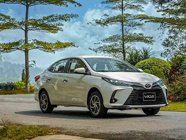 Giá lăn bánh các phiên bản xe Toyota Vios phiên bản nâng cấp vừa ra mắt