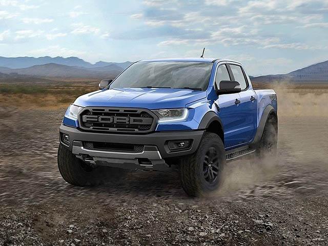 Giá xe Ford Ranger Raptor lăn bánh tháng 2/2021