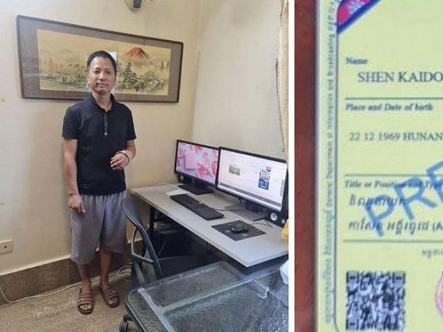 Campuchia bắt giữ nhà báo TQ, trục xuất và cấm tái nhập cảnh
