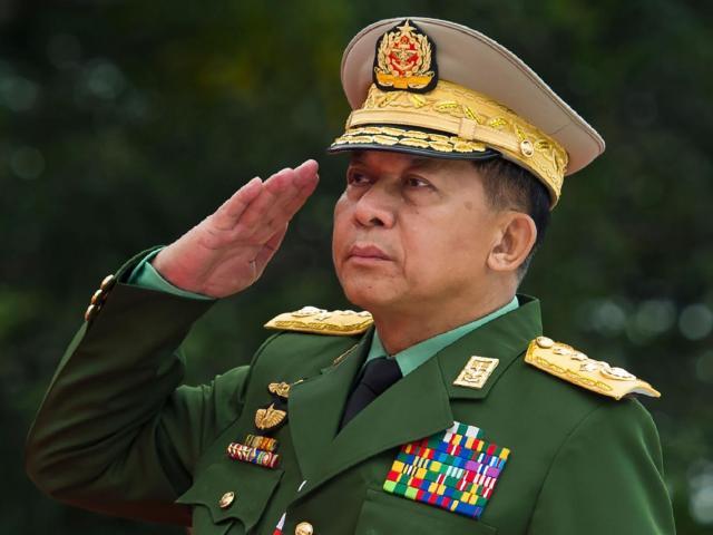 Quốc gia đầu tiên trừng phạt Thống tướng Myanmar