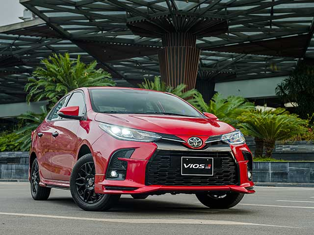 Chi tiết Toyota Vios GR-S hầm hố trong gói nâng cấp thể thao, giá 630 triệu đồng