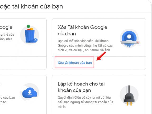 Cách xóa tài khoản Google nhanh trên máy tính, điện thoại