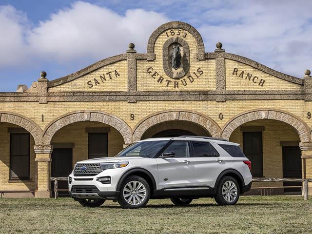 Ford Explorer King Ranch 2021 trình làng, giá từ 1,2 tỷ đồng