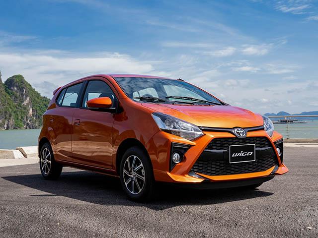 Giá xe Toyota Wigo lăn bánh tháng 3/2021