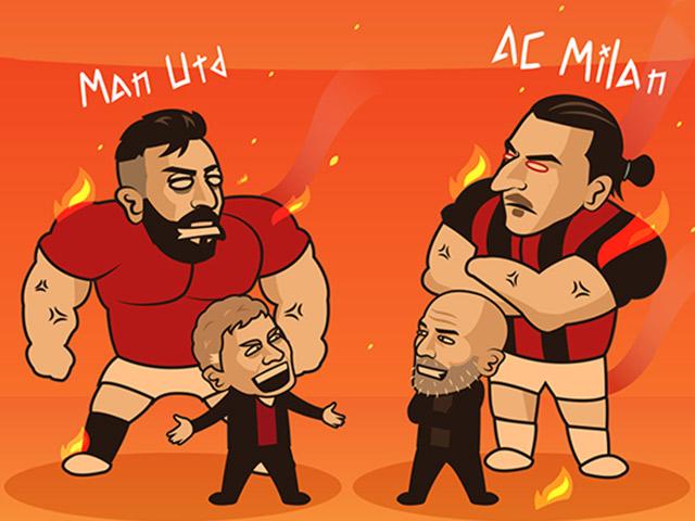 """Ảnh chế: """"Quỷ đỏ"""" sẽ đối đầu """"quỷ dữ"""" ở vòng 1/8 Europa League"""