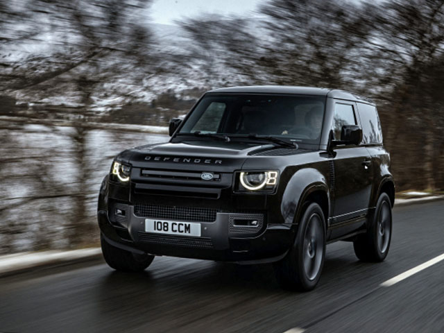 Giới nhà giàu thêm lựa chọn Land Rover Defender động cơ siêu nạp