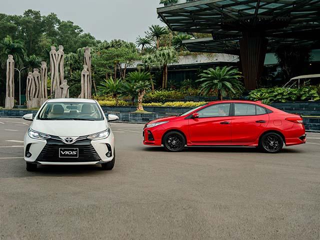"""So sánh Toyota Vios 2021 với 2 đối thủ """"xứng tầm"""" nhất phân khúc"""