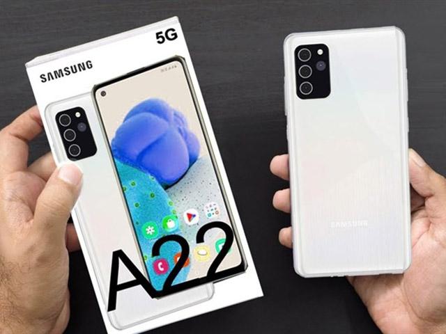 Lộ diện Galaxy A22 5G giá siêu rẻ của Samsung