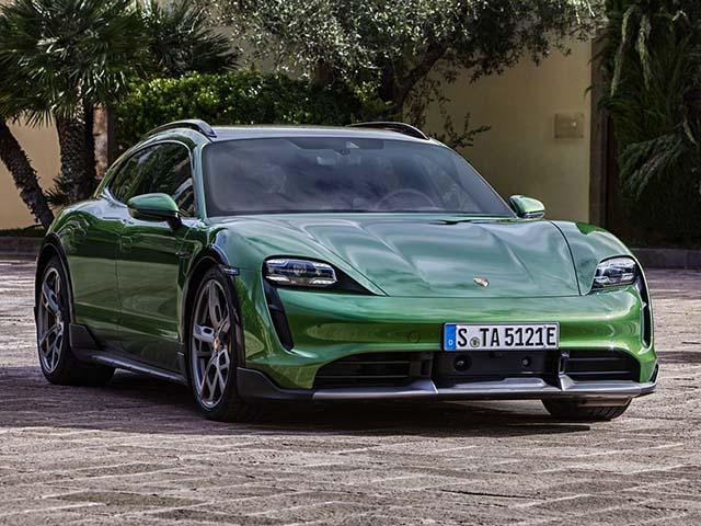 Xe điện Porsche Taycan Cross Turismo trình làng giá hơn 2,5 tỷ đồng