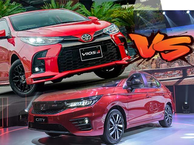 Chọn Toyota Vios GR-S hay Honda City RS, tầm giá hơn 600 triệu
