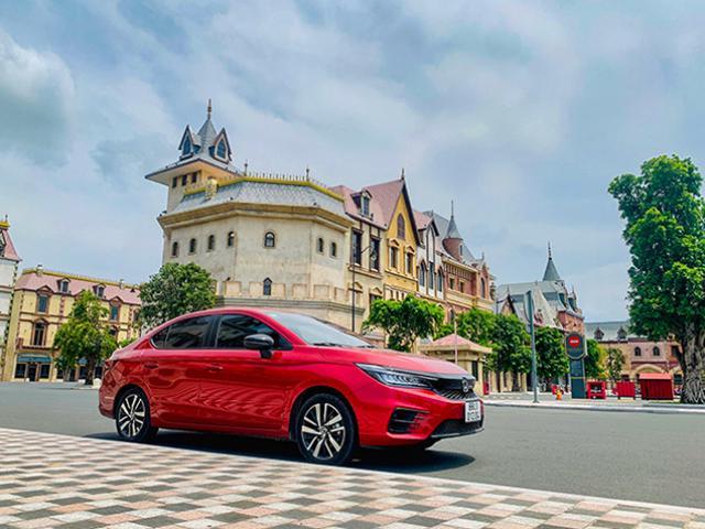 Đánh giá xe Honda City RS, thiết kế bắt mắt và cải thiện tốt cảm giác lái