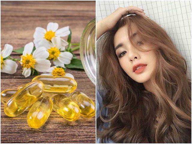 Loạt bí quyết trị rụng tóc, dưỡng tóc cực hay từ viên nang vitamin E