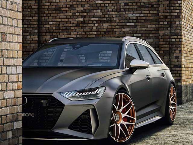 Hãng độ Wheelsandmore nâng cấp công suất Audi RS6 Avant 2020 mạnh hơn cả siêu xe