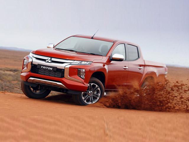 Mitsubishi Triton giảm giá gần 140 triệu đồng xả hàng dọn kho