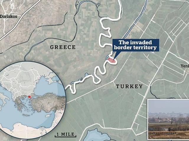 Quân Thổ Nhĩ Kỳ bất ngờ tràn vào đất Hy Lạp kiểm soát, lập doanh trại, giương cờ