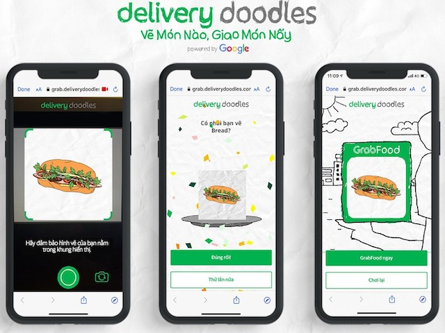 Điều kỳ diệu nhờ AI của Google: Vẽ món ăn để đặt hàng nhanh chóng