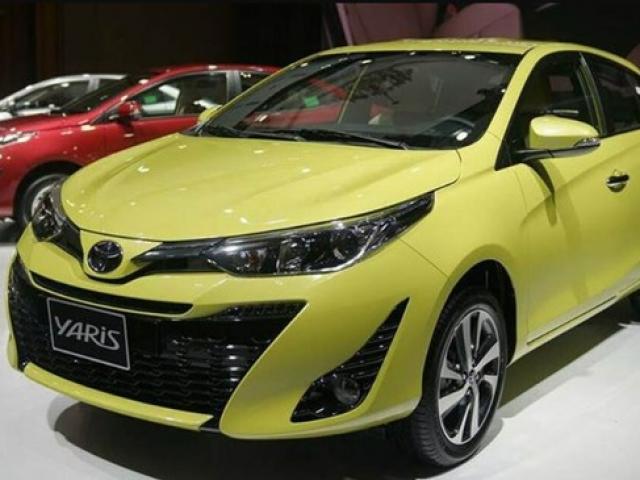 Giá xe Yaris 2020 mới nhất của tất cả các phiên bản cập nhật tháng 5