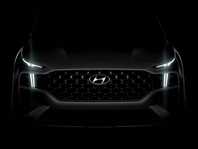 Lộ thêm hình ảnh về xe Hyundai SantaFe phiên bản nâng cấp 2021