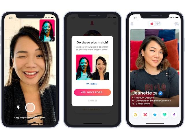 """Hẹn hò bằng Tinder, người dùng phải bật ngay tính năng """"Xác minh qua ảnh"""""""