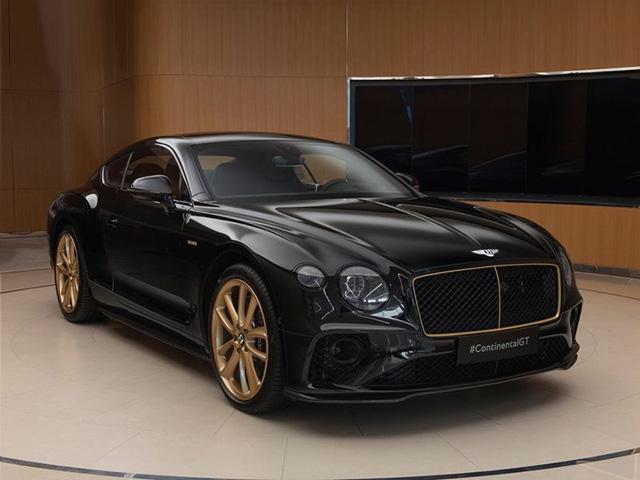 Bentley Continental GT Aurum Edition mạ vàng sản xuất 10 chiếc toàn cầu
