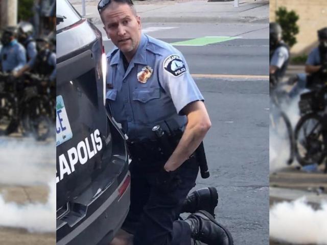Bạo loạn ở thành phố Mỹ: Sỹ quan cảnh sát chèn cổ người da màu bị truy tố tội giết người