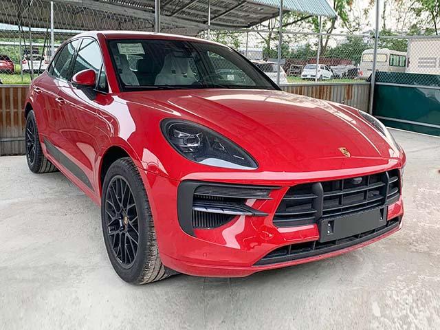 Cận cảnh Porsche Macan GTS 2020 đầu tiên tại Việt Nam giá 4,28 tỷ đồng