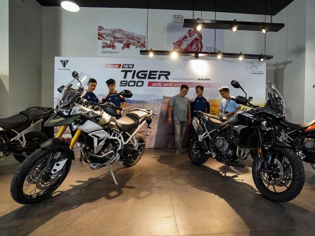 Triumph ra mắt mẫu xe Tiger 900 tại thị trường Việt Nam, giá bán từ 369 triệu đồng