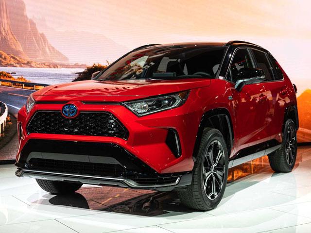 Toyota RAV4 Prime 2021 plug-in hybrid giá từ 38.100 USD