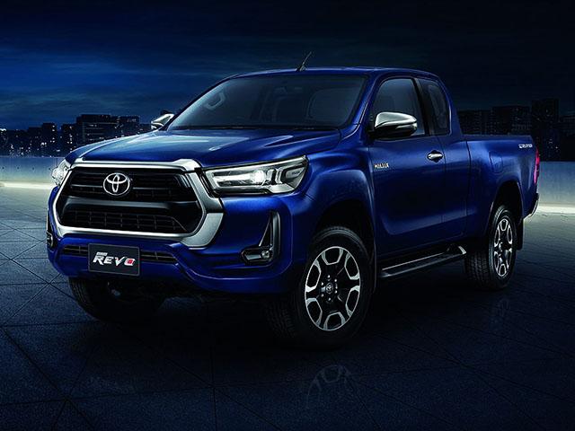 Xe bán tải Toyota Hilux phiên bản nâng cấp được thay đổi diện mạo đầy cá tính