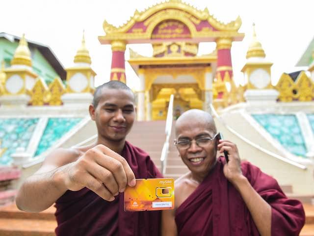 Đem chuông đi đánh xứ người, nhà mạng của Việt Nam lên top 2 tại Myanmar
