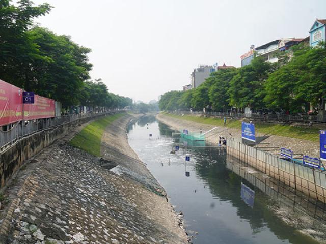 Lãnh đạo Sở Xây dựng HN: JVE đã từ bỏ xử lý ô nhiễm sông Tô Lịch bằng công nghệ Nhật