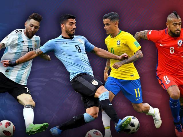 Lịch thi đấu bóng đá vô địch Nam Mỹ - Copa America 2021