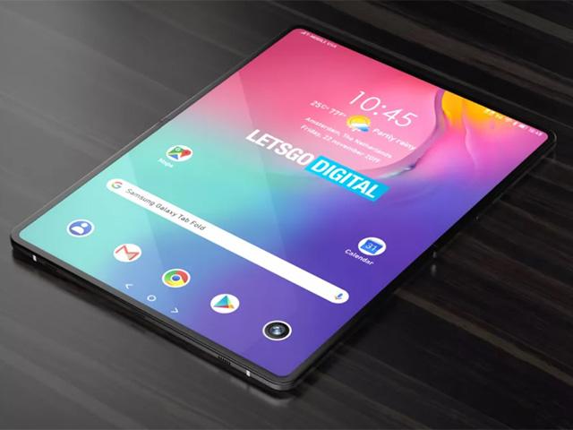 Quên Galaxy Z Fold 3 đi, Samsung sắp có máy tính bảng gập lại