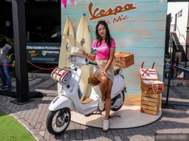 2021 Vespa Primavera PicNic có số lượng siêu hiếm, giá 112 triệu đồng