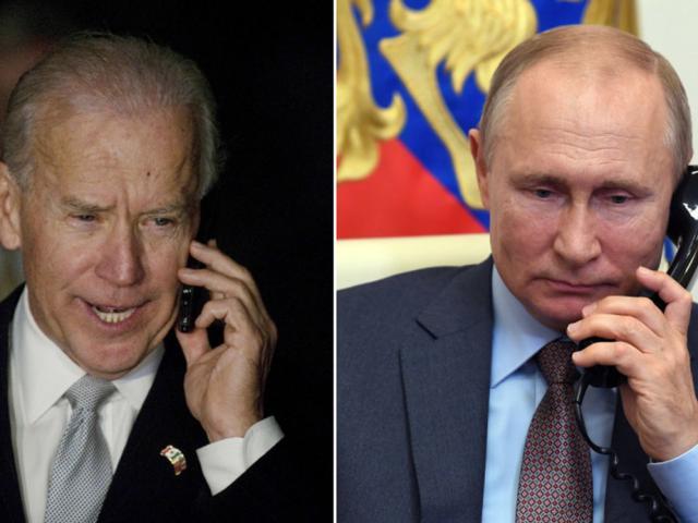 Căng thẳng Nga-Ukraine: Ông Biden điện đàm với ông Putin, đề nghị gặp trực tiếp