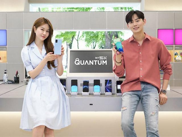 """Samsung ra mắt Galaxy Quantum2 5G siêu bảo mật, giá cực """"mềm"""""""