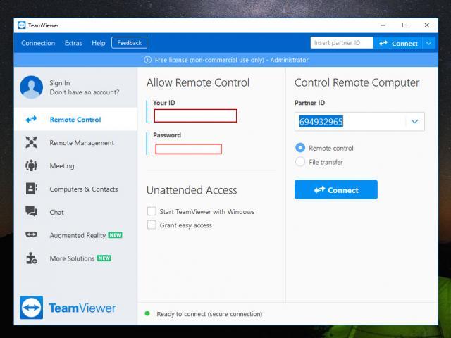 Cách dùng TeamViewer miễn phí trên máy tính và điện thoại mới nhất