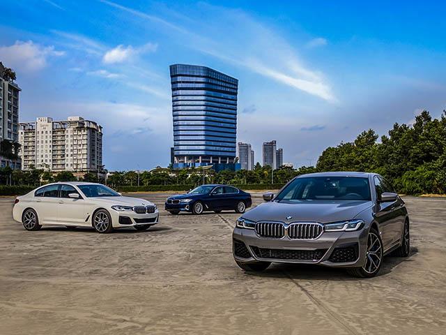 BMW 5-Series phiên bản nâng cấp ra mắt thị trường Việt, giá bán từ 2,5 tỷ đồng