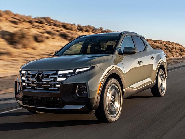 Bán tải Hyundai Santa Cruz trình làng, hứa hẹn gây sức ép lên Ford Ranger