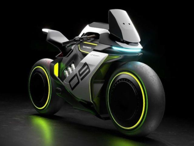 Sắp có môtô chạy bằng nước và điện, thiết kế bánh không trục