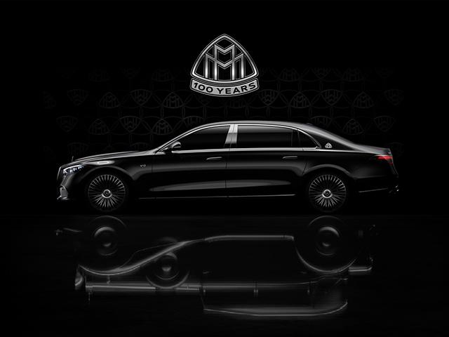 Mercedes-Maybach phiên bản kỷ niệm 100 năm nhá ảnh trước ngày ra mắt